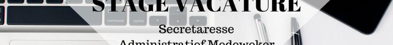 STAGE VACATURE administratie